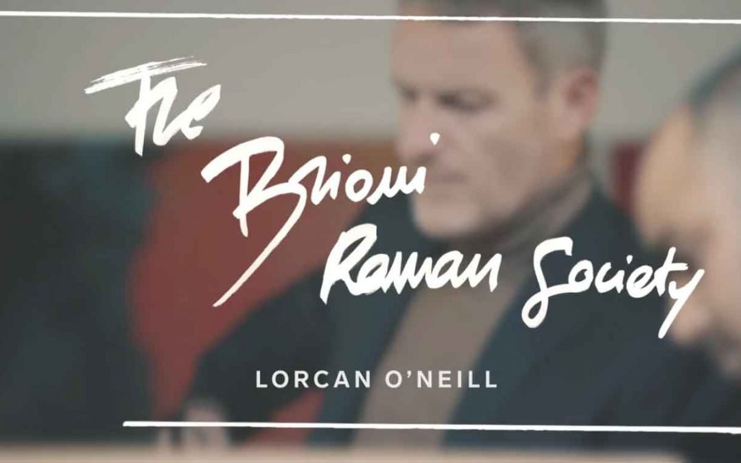 Brioni series Roman Society featuring Lorcan O'Neill